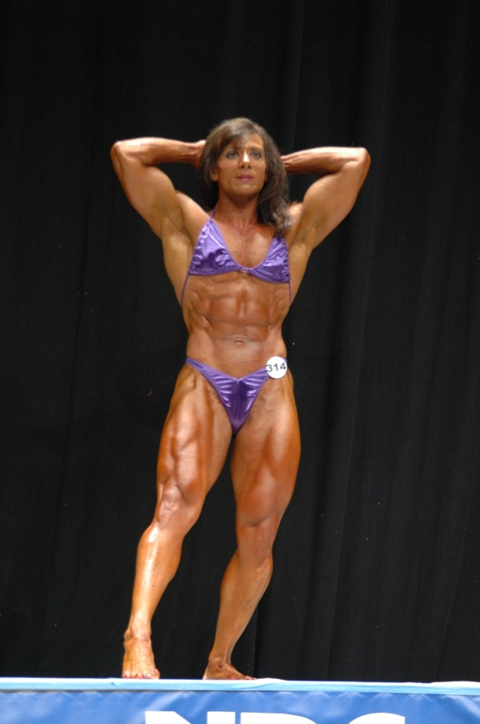 Tina Zampa National Level Bodybuilder Free Gallery
